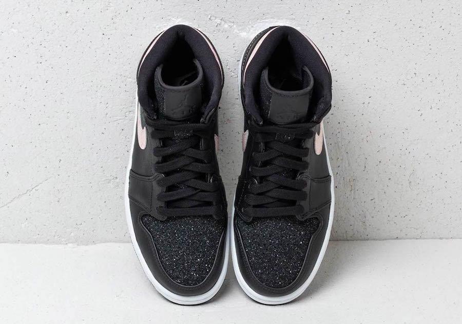 Air Jordan 1 High Premium,AJ1  BlingBling 的闪粉点缀!女生专属 Air Jordan 1 即将发售